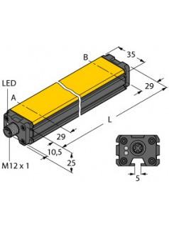 图尔克TURCK感应式直线位移传感器LI1000P0-Q25LM0-LIU5X3-H1151
