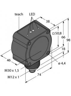 图尔克TURCK雷达波传感器QT50R-EU-AFHQ