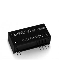 两线制信号小体积低成本隔离IC:ISOS系列. 二线制隔离变送器IC新品.
