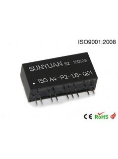 PWM与模拟量隔离转换IC.可相互转换4-20mA与PWM信号的ISO系列产品