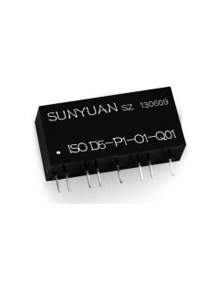 PWM脉宽信号DA转换隔离变送器:ISO D-P-O系列. PWM单片机控制脉冲转换隔离放大器IC.