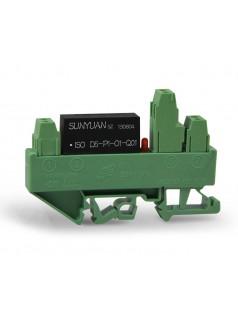 转速信号采集低成本变送器IC. 正弦波、锯齿波信号小体积两隔离变送器:SY S-P-O系列.