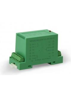4-20mA与0-10V模拟量转换两隔离变送器