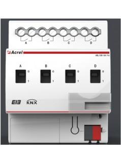安科瑞ASL100-S4/16智能照明开关驱动器 4路开关驱动器,手动操作开关