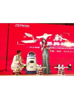 西安年会、庆典、签约会、答谢会机器人租赁