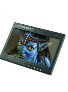 8.0寸嵌入式工业监视器B款