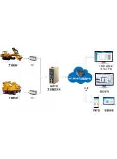 wtblnet工业智能网关在工程机械远程运维远程监控系统上的应用
