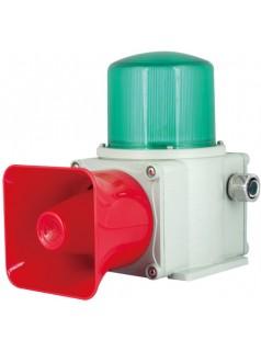 铸铝型 重负荷 LED长亮/闪亮 工业用声光报警灯 船用声光报警器