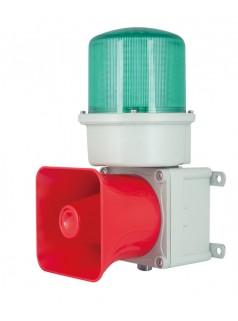 铸铝型重负荷 LED旋转亮发光 船用声光报警灯 语音声光报警器