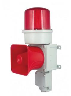 铸铝型重负荷 LED长亮/闪亮发光 船用声光报警器 语音声光报警器 声光报警灯