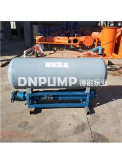 陕西渭南浮船抽水泵-河道抽水用