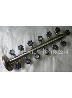 供应304不锈钢材质KFQ型空气分配器,气源分配器