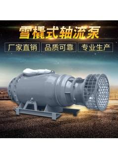 雪橇式潜水轴流泵_优质雪橇式轴流泵_大流量排水