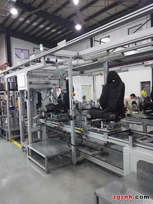 宜科定制化软硬件集成为知名汽车零部件厂商打造座椅装配线