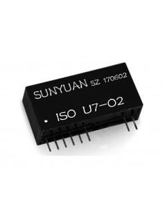 顺源科技模拟信号隔离放大器|ISO U1-P1-O1常用模拟信号隔离放大器
