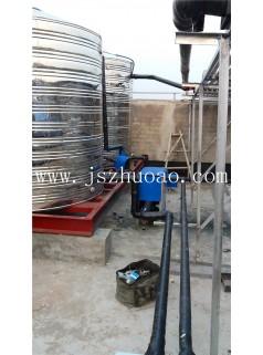 上海健身房空气能热水工程 洗浴热水系统