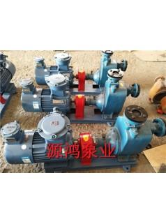 源鸿25CYZ-27自吸式离心泵,防爆离心油泵