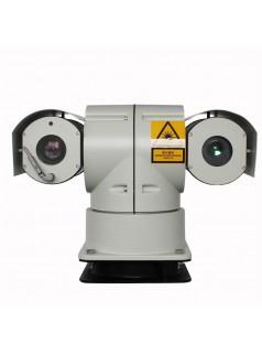 激光车载云台高清摄像机,支持AHD和网络机芯,激光云台,激光夜视仪,执法车监控,车载监控,车载云台摄像机