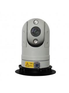 阵列式红外高清车载云台摄像机,支持AHD和网络机芯,执法车监控,车载监控,车载云台摄像机,警车监控