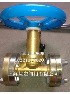 QJT200-25银焊气体截止阀