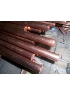 哈尔滨国标C1100紫铜棒 电极专用阴极紫铜棒