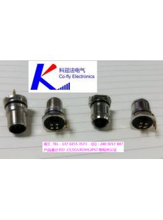 M12防水插座,M12传感器插座,M12面板PCB插座