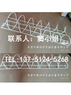 烤漆自行车防盗停车架厂家供应生产一组六辆车