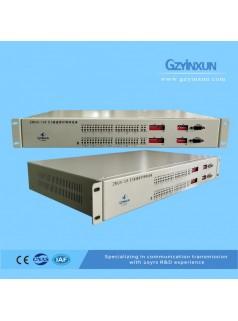 16进8出 E1保护倒换设备-ZMUX-128-广州银讯