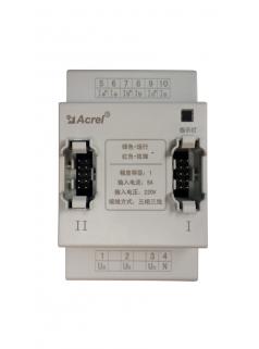 安科瑞消防电源监控从模块AFPM/T-AVI 监测1路三相交流电压及电流  与主模块配合使用