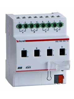 安科瑞ASL100-SD4/16智能照明0-10V调光器 18702109206