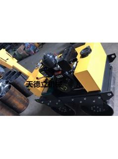 SL600C手扶双轮柴油动力压路机  小型双钢轮压路机