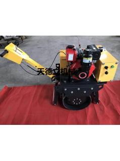 小型压路机 170F手扶单轮压路机 YL600C单轮柴油压路机