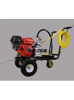 冷喷隔膜泵划线机  手推式单枪划线机  小区车位线划线机