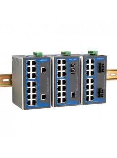MOXA 宽温 EDS-316-T 16口非网管型工业以太网交换机