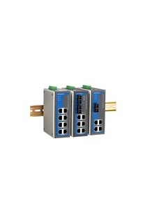 MOXA 宽温型 EDS-308-M-SC-T 8口聪明型工业以太网交换机