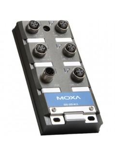 台湾MOXA EDS-305-M12 5 端口非网管型 以太网交换机