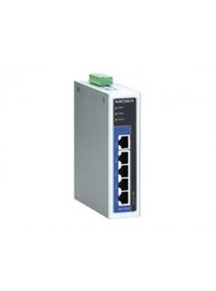 EDS-G205 MOXA 5口全千兆 非网管型工业交换机