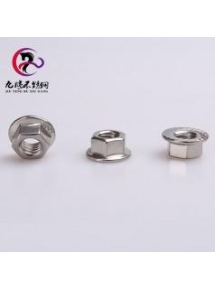 不锈钢螺母生产厂家专业批发各种螺母质量保证大量现货m8法兰螺母