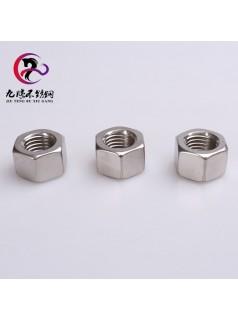 源头厂家直销标准件304/316不锈钢外六角螺母 GB/T6170六角厚螺母