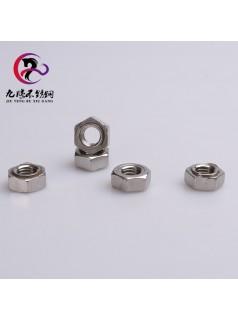 厂家直销304不锈钢六角焊接螺母产地货源国标现货可定制品质爆款