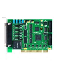 PCI2010同步数据采集卡32路AD 14位400K模拟采集带DA DIO采集DAQ