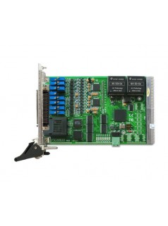 PXI8800采集卡100KS/s 16位 12路同步模拟量输入,光纤数据通讯