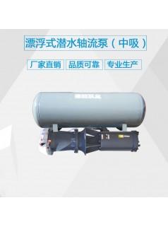 浮筒式潜水轴流泵_轴流泵型号价格_德能泵业