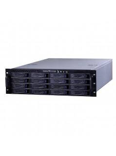杰士安16盘位单电源存监控储转发一体机,监控平台软件