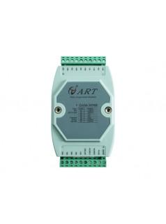 8路ai输入模拟量采集模块modbus4-20ma转rs485阿尔泰DAM3058R