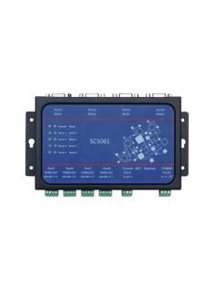阿尔泰科技SC5061 八串口设备联网服务器,8路口,1路网口