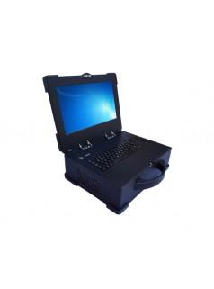 15.6寸屏 阿尔泰PXIC机箱11槽3U便携式机箱 PXIC-7911