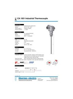 销售THERMO-ELECTRA温度传感器