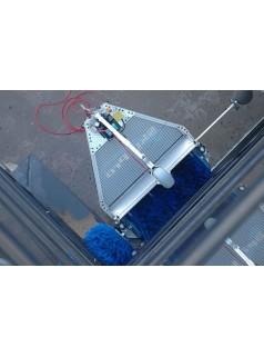 外墙攀爬清洗机器人迷你机