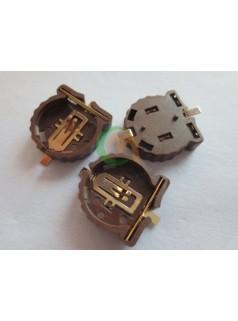 CR1220镀金贴片电池座 耐高温280过回流焊